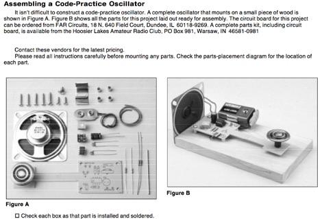 Code Practice Oscillator