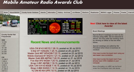 DXZone The Mobile Amateur Radio Awards Club