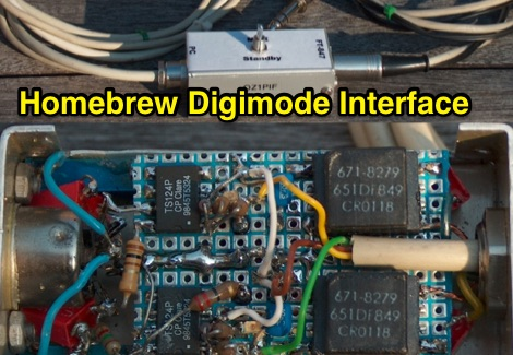 Homebrew Digimode Interface