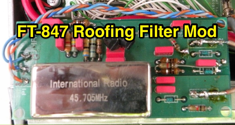 FT-847 Roofing Filter Mod