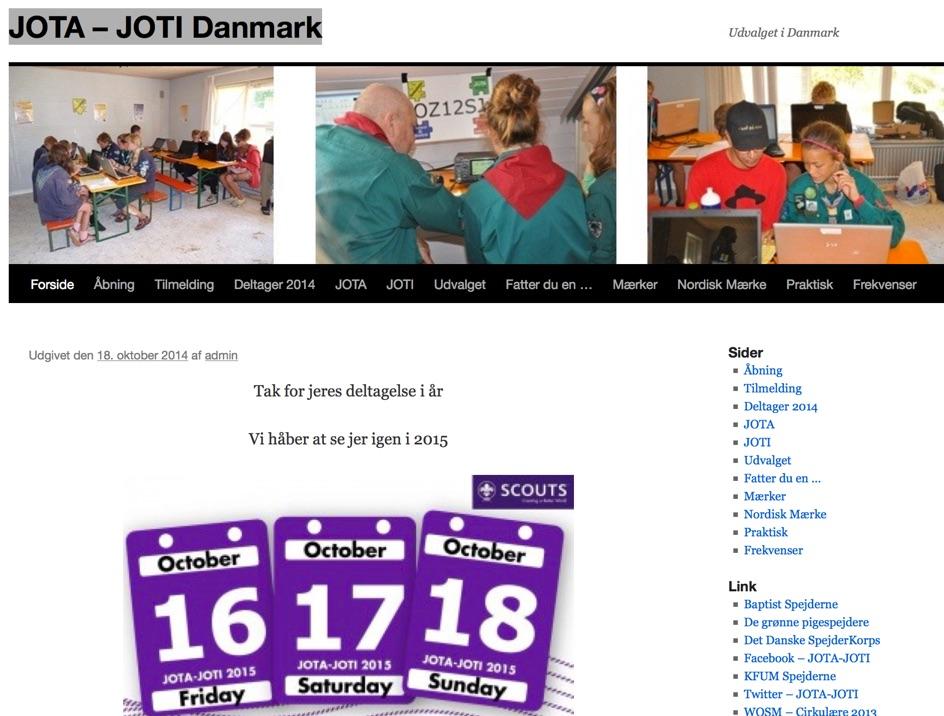 JOTA - JOTI Danmark
