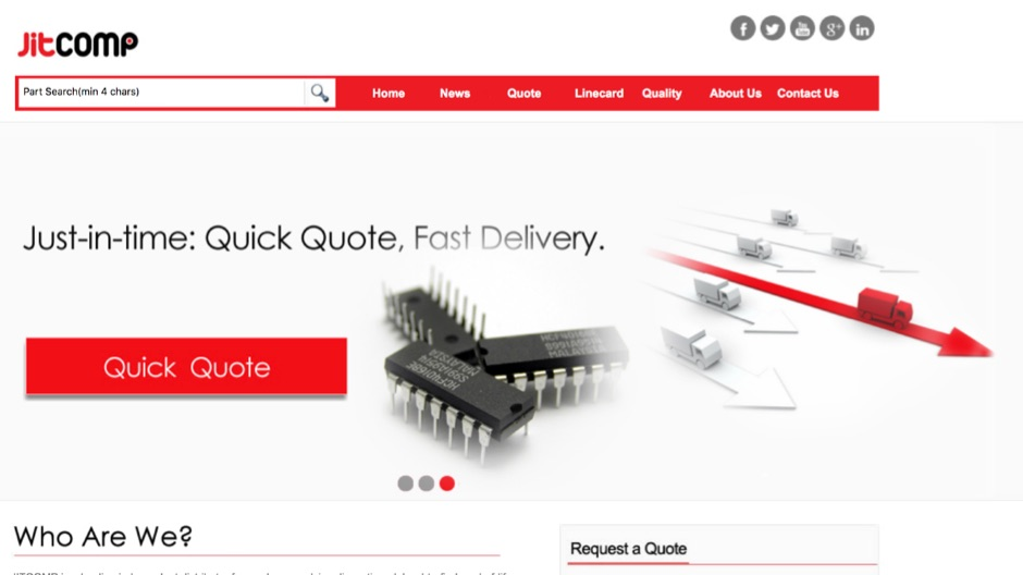 JITCOMP Electronic Component Independent Distributor