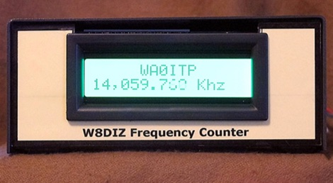 W8DIZ Frequency Counter