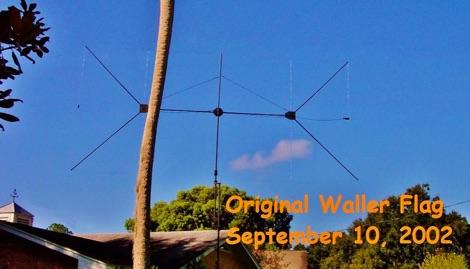 Waller Flag  Antenna