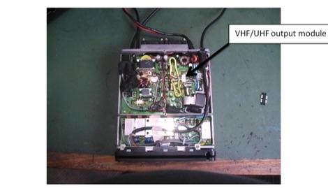 Yaesu FT100D VHF/UHF Faulty RF Amplifier Repair