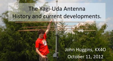 DXZone The Yagi-Uda Antenna