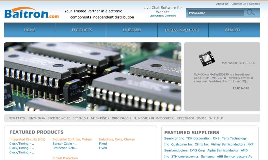 DXZone Baitron Electronics Company Limited - Electronic Components Distributor