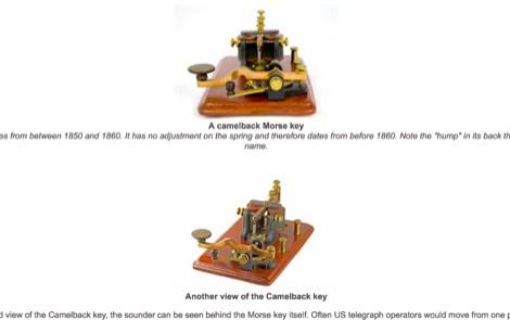 Morse Key History