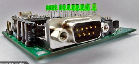 DXZone Arduino Band decoder