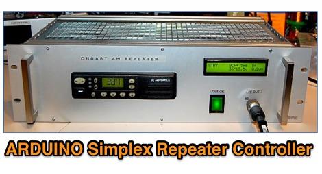 DXZone ARDUINO Simplex Repeater Controller