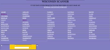 Wisconsin Scanner