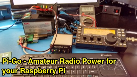 DXZone Pi-Go - Amateur Radio Power for your Raspberry Pi