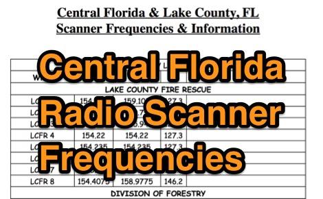 Central Florida Frequencies