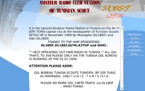 3V8ST Tunisian Scout Club