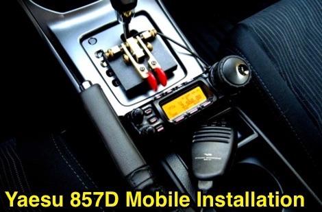 DXZone Yaesu 857D Mobile Installation