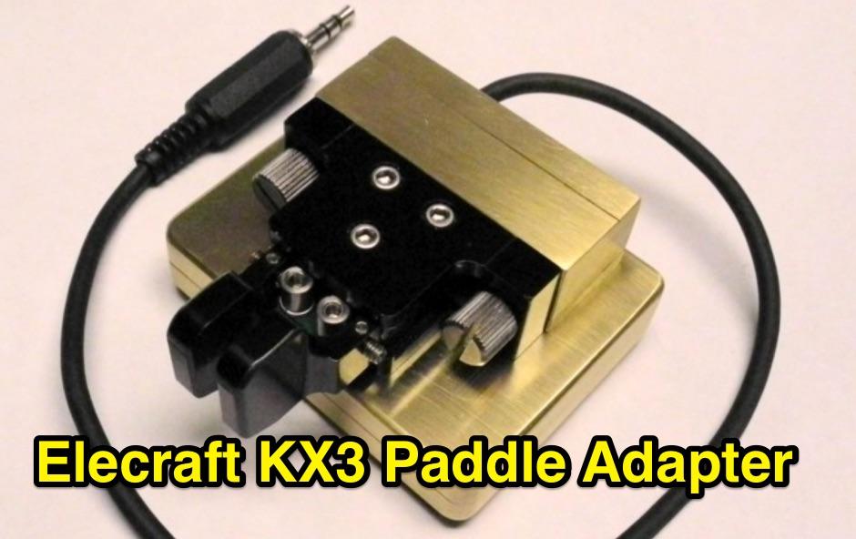DXZone Elecraft KX3 Paddle Adapter