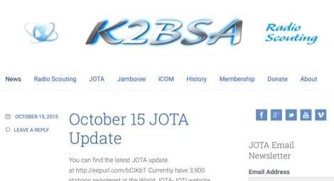 DXZone K2BSA Radio Scouting