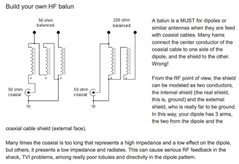 Build your own HF balun