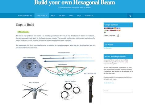 Build your own Hexagonal Beam