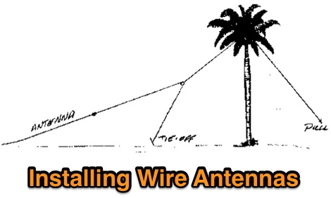 Installing Wire Antennas in trees