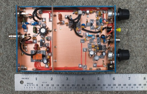 DXZone The VK3YE Micro 40 DSB Transceiver