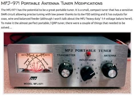 MFJ-971 Modification