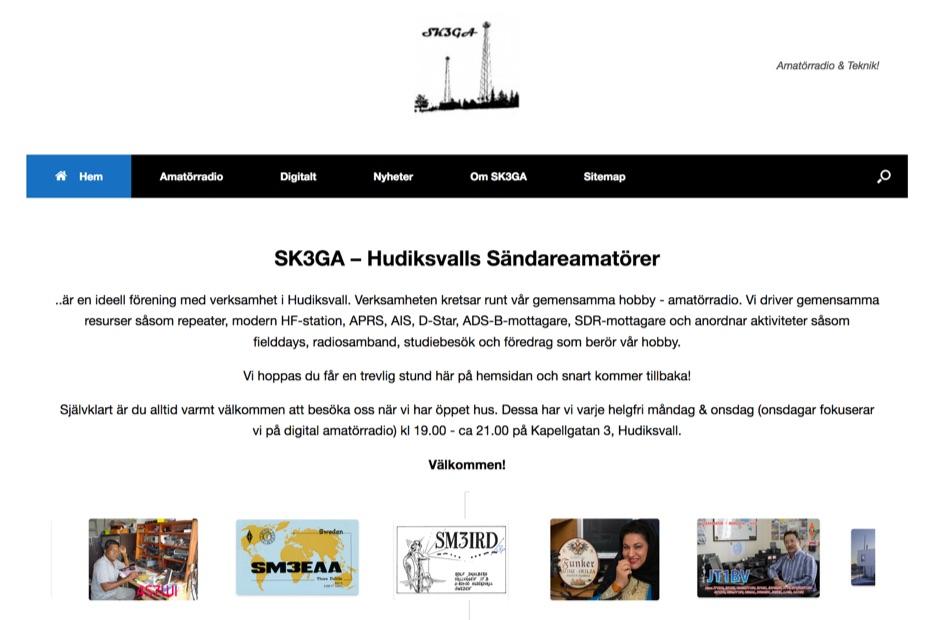 SK3GA - Hudiksvalls Sandareamatorer