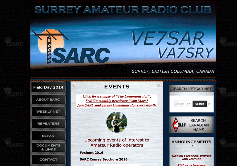 SARC - Surrey Amateur Radio Club