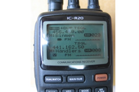 ICOM IC-R20 Wideband Receiver Review