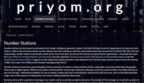 Priyom Number Stations