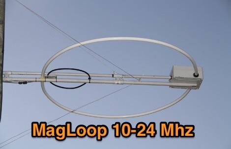 DXZone MagLoop 10-24 Mhz