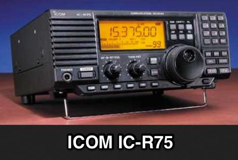 Icom IC-R75 review