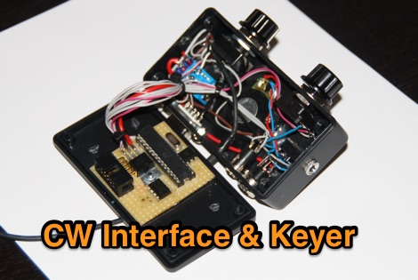 CW Interface and Iambic Keyer