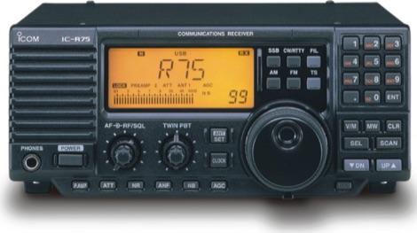 DXZone Icom IC-R75