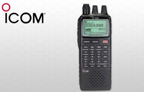 Icom R20 Quick Start Guide