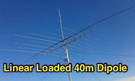 Linear Loaded 40m Dipole