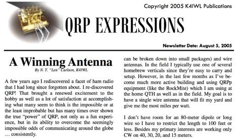 A Winning Antenna