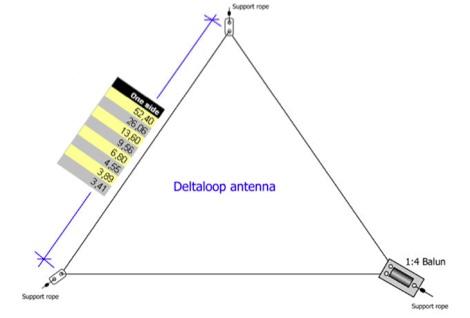 DXZone 40 Meter Delta Loop