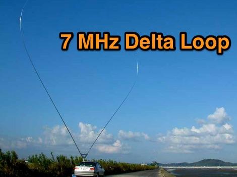 7 MHz Alumium Delta Loop