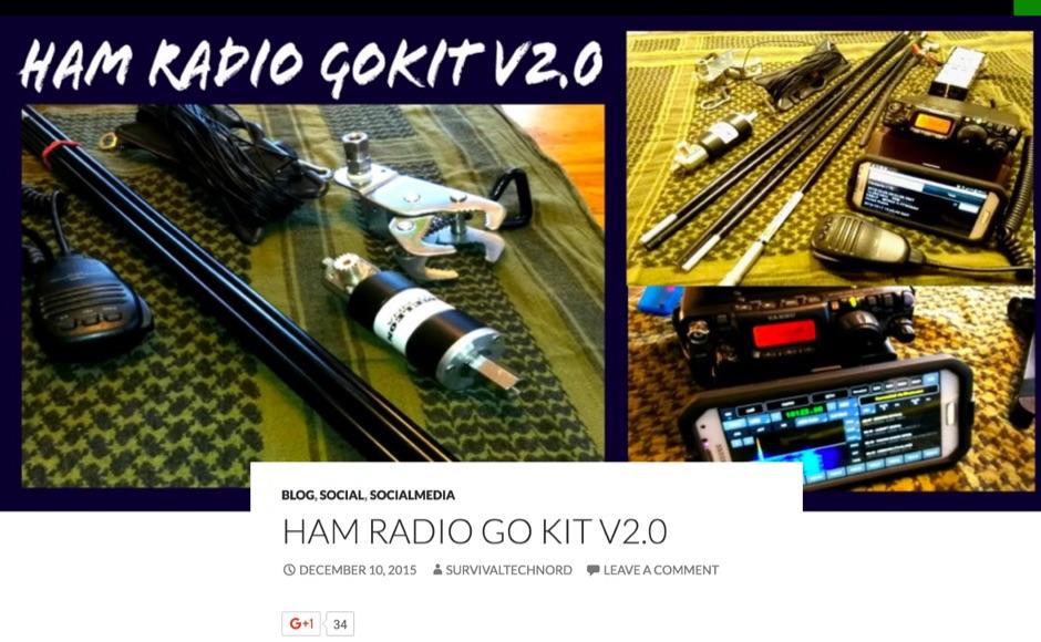 DXZone Ham Radio Go Kit v2.0