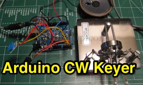 DXZone Arduino Iambic Keyer and Side Tone Generator