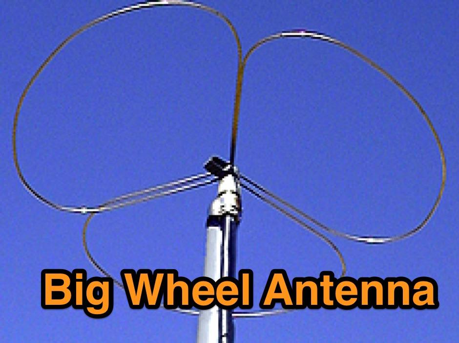 2m Big Wheel Antenna