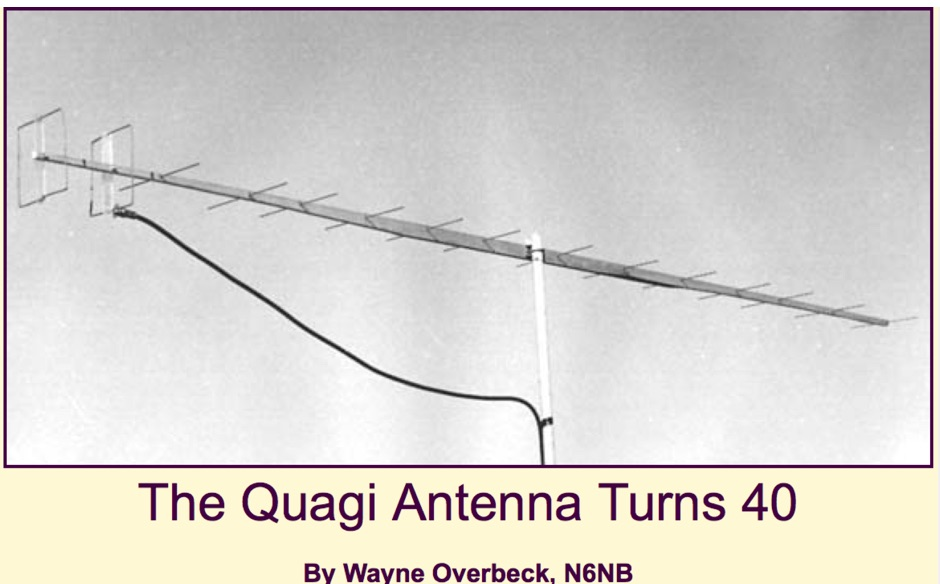 The Quagi Antenna Turns 40