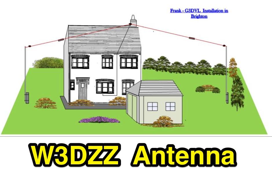 DXZone W3DZZ Multi-band Antenna 80-40-20-15-10m
