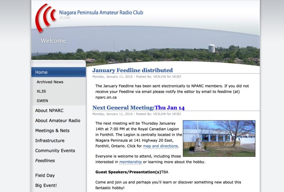 Niagara Peninsula Amateur Radio Club