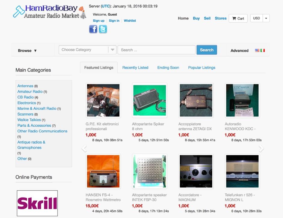 HamRadioBay - Amateur Radio Market