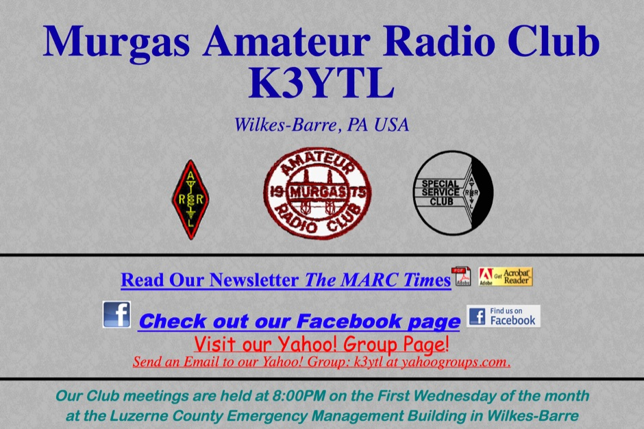 K3YTL Murgas Amateur Radio Club