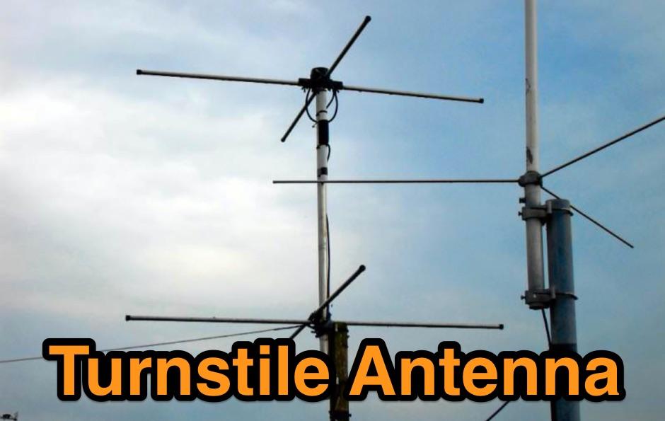 137MHz Turnstile Antenna