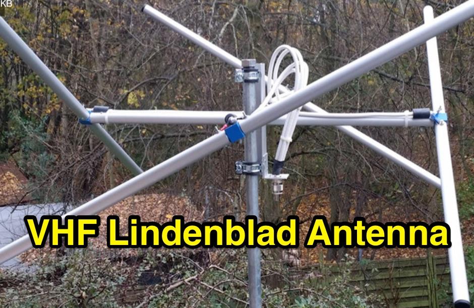 2 Meters Lindenblad Antenna