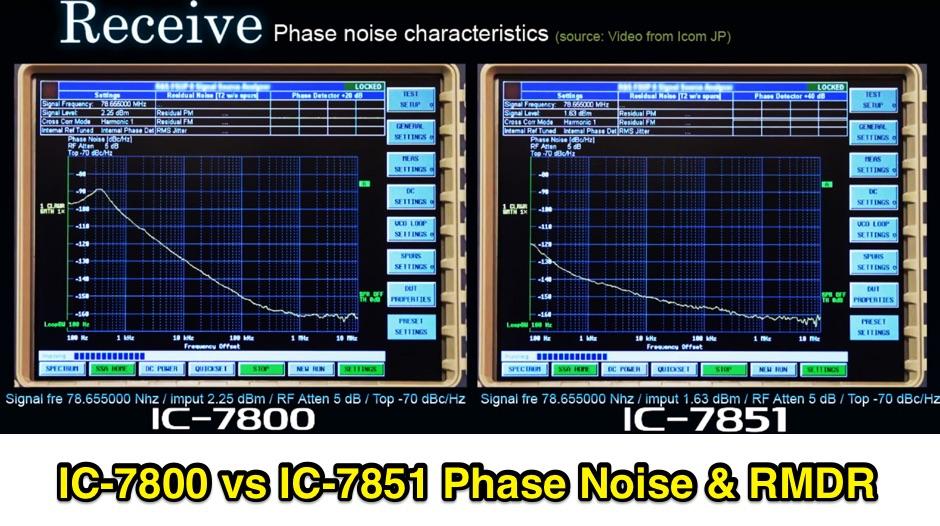 ICOM IC-7851 vs IC-7800